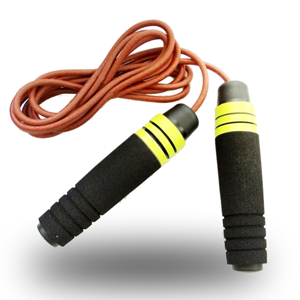 Skip rope Profi leather